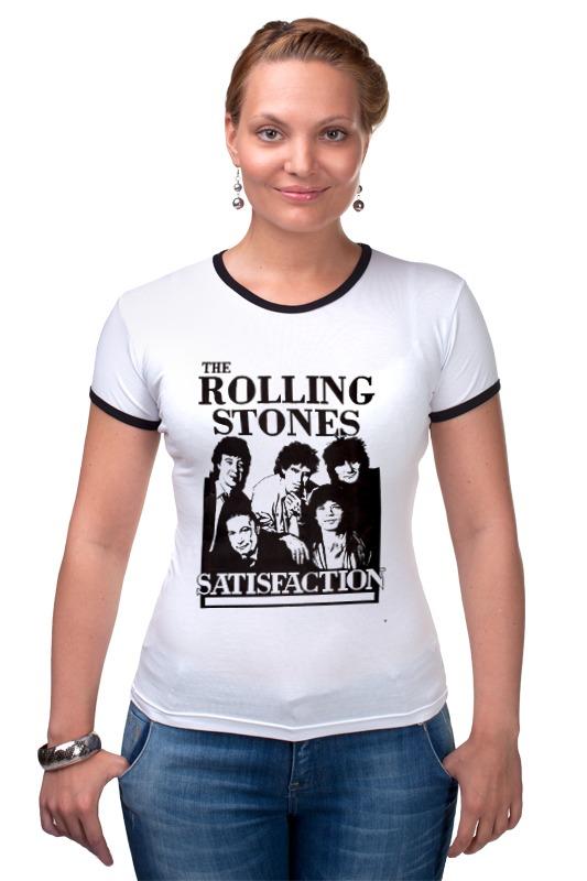 Футболка Рингер Printio The rolling stones футболка классическая printio mick jagger the rolling stones