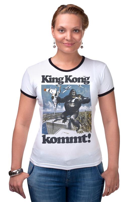 Футболка Рингер Printio King kong футболка стрэйч printio kong is king кинг конг