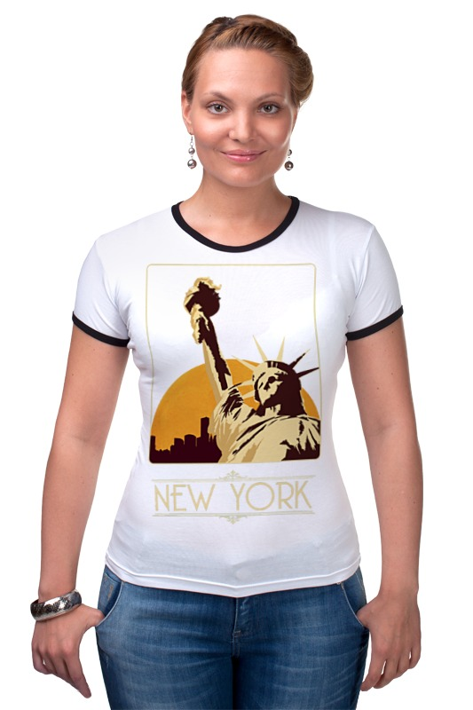 Футболка Рингер Printio New york футболка стрэйч printio new york