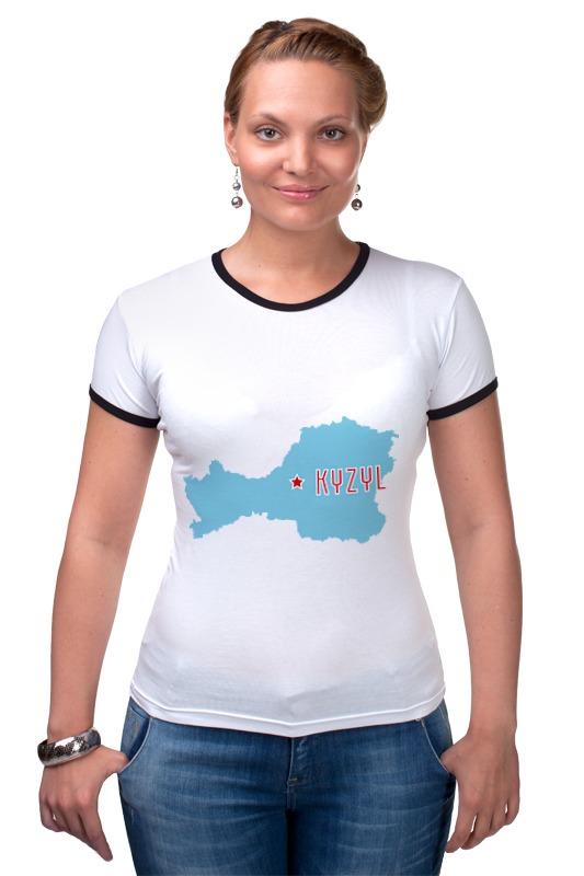 Футболка Рингер Printio Республика тыва. кызыл футболка рингер printio республика удмуртия ижевск
