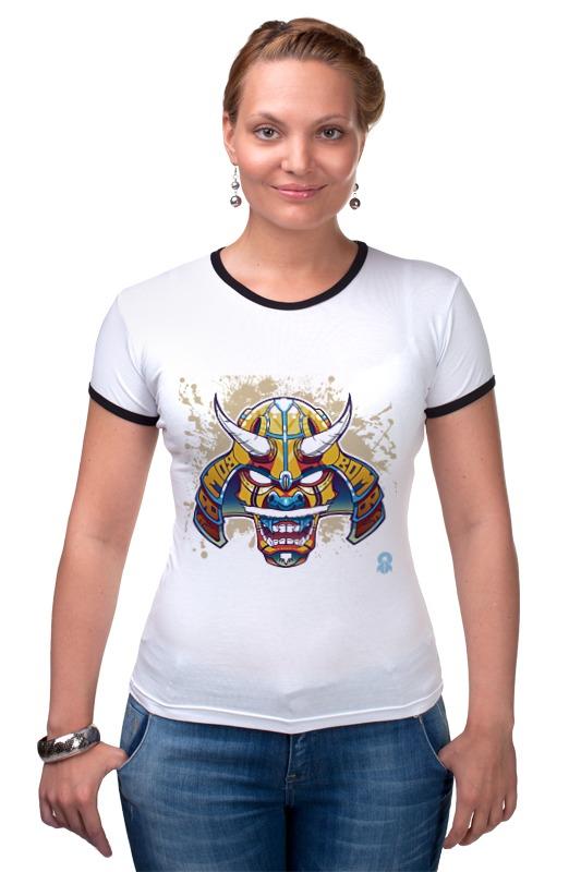 Футболка Рингер Printio Маска самурая transformers маска bumblebee c1331