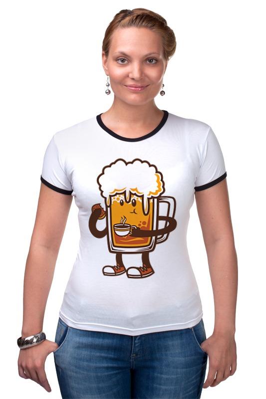 Футболка Рингер Printio Пиво. жигулевское пиво рязань где