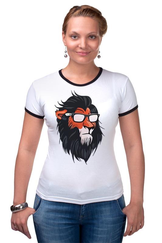 Футболка Рингер Printio Шрам (король лев) футболка рингер printio король лев