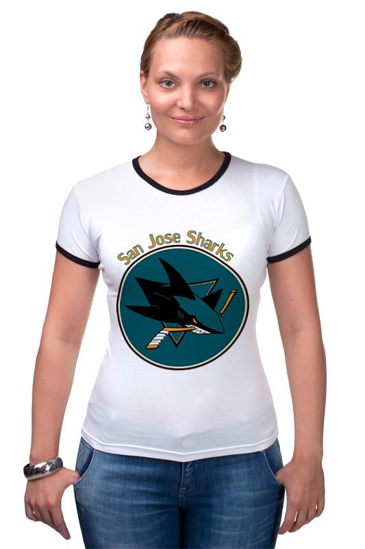 Футболка Рингер Printio San jose sharks майка классическая printio san jose sharks сан хосе шаркс