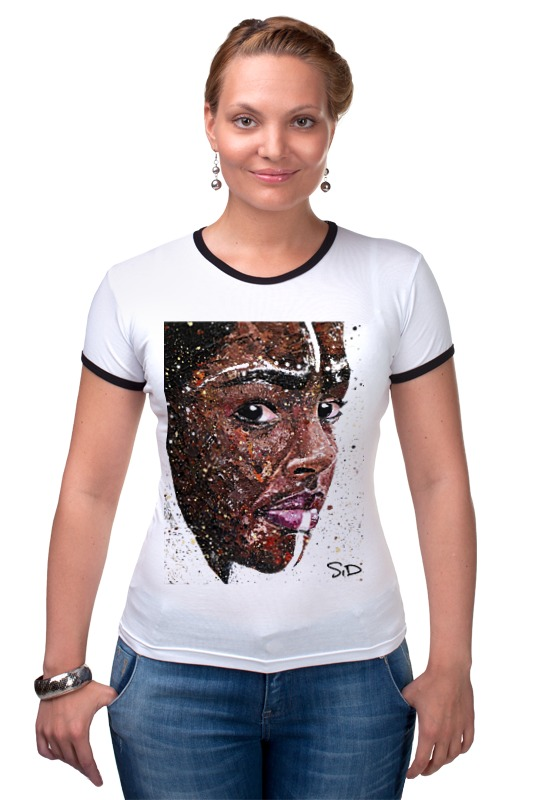 Футболка Рингер Printio Африка1 by sid_artwork серова м вся прелесть стриптиза