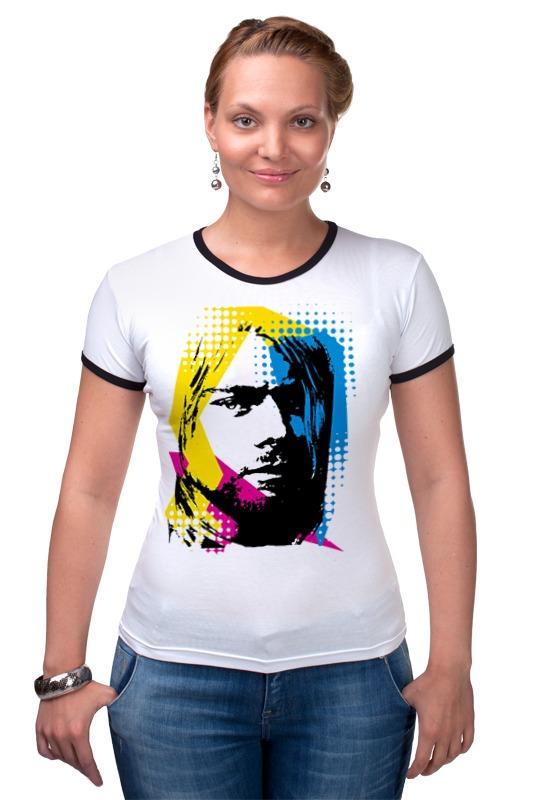 Футболка Рингер Printio Nirvana kurt cobain