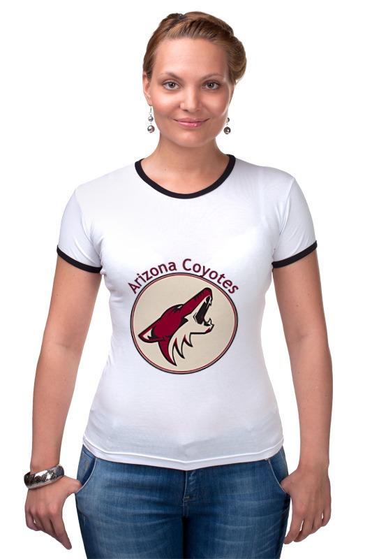 Футболка Рингер Printio Arizona coyotes футболка quelle arizona 874837