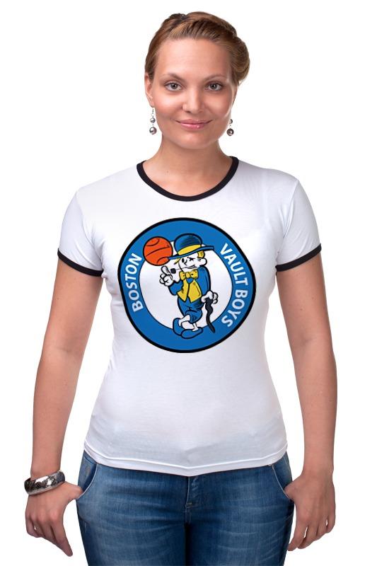 Футболка Рингер Printio Vault boy (fallout) футболка классическая printio fallout фэллаут