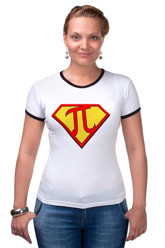 Футболка Рингер Printio Супер пи (super pi) футболка стрэйч printio супер пи super pi