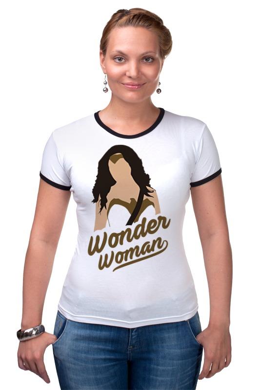 Футболка Рингер Printio Чудо-женщина (wonder woman) чехол для iphone 6 глянцевый printio чудо женщина wonder woman