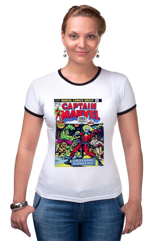 Футболка Рингер Printio Marvel футболка рингер printio спиннер