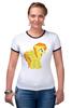 """Футболка Рингер """"pony"""" - mlp"""