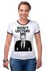 "Футболка Рингер ""Don't lecture me! Lavrov"" - russia, weloverov, лавров, россия, lavrov"