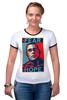 """Футболка Рингер """"Обама - No Hope"""" - политика, обама, hope"""