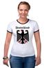"""Футболка Рингер """"Германия"""" - страны, герб, символика, германия"""