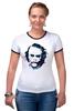 """Футболка Рингер """"Джокер / Joker"""" - joker, джокер, бетман, клокун"""
