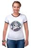 "Футболка Рингер ""Anaheim Ducks"" - 3d, хоккей, nhl, нхл, anaheim ducks"