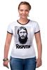 "Футболка ""Рингер"" (Женская) ""Rasputin"" - россия, russia, imperia, распутин, rasputin"