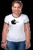 """Футболка Рингер """"Apple"""" - приколы, футболка, оригинально, футболка женская, выделись из толпы"""