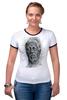 "Футболка Рингер ""Morgan Freeman"" - побег из шоушенка, актёр, режиссёр, морган фримен, morgan freeman"