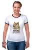 "Футболка Рингер ""doge wow such shirt so fashion"" - мем, пёс, wow, doge, собакен"