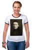 """Футболка """"Рингер"""" (Женская) """"Навальный Алексей"""" - россия, навальный, политика, блоггер, либерал"""