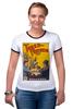 """Футболка Рингер """"ретро плакат"""" - ретро, книга, постер, ремарк, три товарища"""
