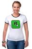 "Футболка ""Рингер"" (Женская) ""Rockstar Games"" - gta, rockstar, гта, рокстар, rockstar games"