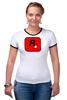 "Футболка Рингер ""Rockstar Games"" - gta, rockstar, гта, рокстар, rockstar games"