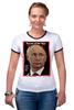 "Футболка Рингер ""Putin"" - putin, russia, президент, путин, россия"