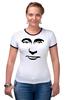 "Футболка Рингер ""Путин"" - россия, путин, президент, putin, president"