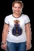 "Футболка Рингер ""Легенды майя"" - оригинально, авторские майки, креативно, девушке"