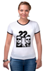 "Футболка Рингер ""Мачо и ботан"" - комедия, comedy, мачо и бота, ченнинг татум, 22 jump street, jonah hill, channing tatum"