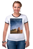 "Футболка Рингер ""Интерстеллар "" - future, космос, фильмы, научная фантастика, интерстеллар, interstellar"