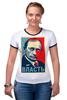 "Футболка Рингер ""Путин "" - арт, путин, putin, власть, authority"