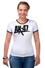 "Футболка Рингер ""AK-47"" - ак-47, калашников, weapon, ak47, автомат калашникова"
