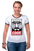 "Футболка Рингер ""Повар"" - obey, во все тяжкие, breaking bad, heisenberg, cook"