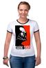 "Футболка Рингер ""Darth Vader"" - star wars, darth vader, звездные войны, темная сторона, печеньки"