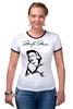 """Футболка Рингер """"Marilyn Monroe"""" - любовь, мэрилин монро, marilyn monroe"""