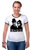 """Футболка Рингер """"Братья Блюз (The Blues Brothers) """" - братья блюз"""
