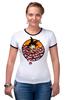"""Футболка Рингер """"Жемчуг дракона (Покемон)"""" - манга, pokemon, покемон, dragon ball"""
