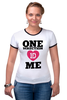 """Футболка """"Рингер"""" (Женская) """"One Direction"""" - one direction, бой-бэнд"""