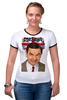 "Футболка Рингер ""Mr.Bean"" - mr bean, rowan atkinson, актёр, мистер бин, роуэн аткинсон"
