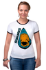 "Футболка Рингер ""San Jose Sharks Сан-Хосе Шаркс "" - спорт, хоккей, нхл, san jose sharks, сан-хосе шаркс"
