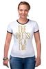 """Футболка """"Рингер"""" (Женская) """"Какого цвета Платье?"""" - платье, dress, какого цвета, the dress is a lie"""