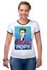 "Футболка Рингер ""Edward Snowden"" - россия, цру, edward snowden, америка, эдвард сноуден"
