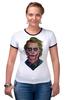 "Футболка Рингер ""Джокер"" - комикс, joker, джокер, супергерои, бэтмен"