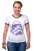 "Футболка Рингер ""Штурмовик "" - космос, star wars, шлем, stormtrooper, десант, штурмовик, стар варс, звёздные воины, воины, штурмовики"