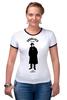 "Футболка Рингер ""Шерлок Холмс (Sherlock Holmes)"" - сериал, sherlock, шерлок, 221b"