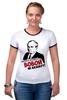 "Футболка Рингер ""Вова Путин"" - путин, президент, putin, вова"